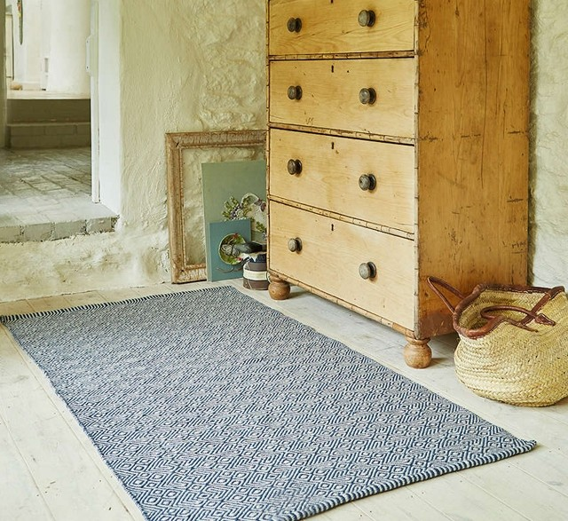 Weaver Green recycled PET rug
