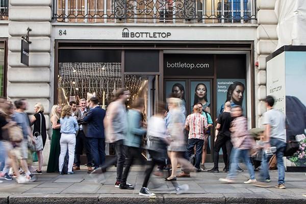 Bottletop flagship store Regent Street