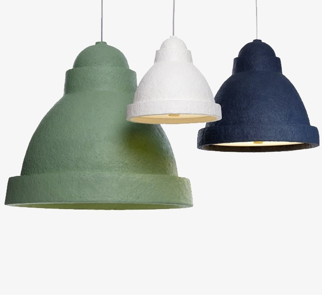 Paper mache pendant lamp by Moooi