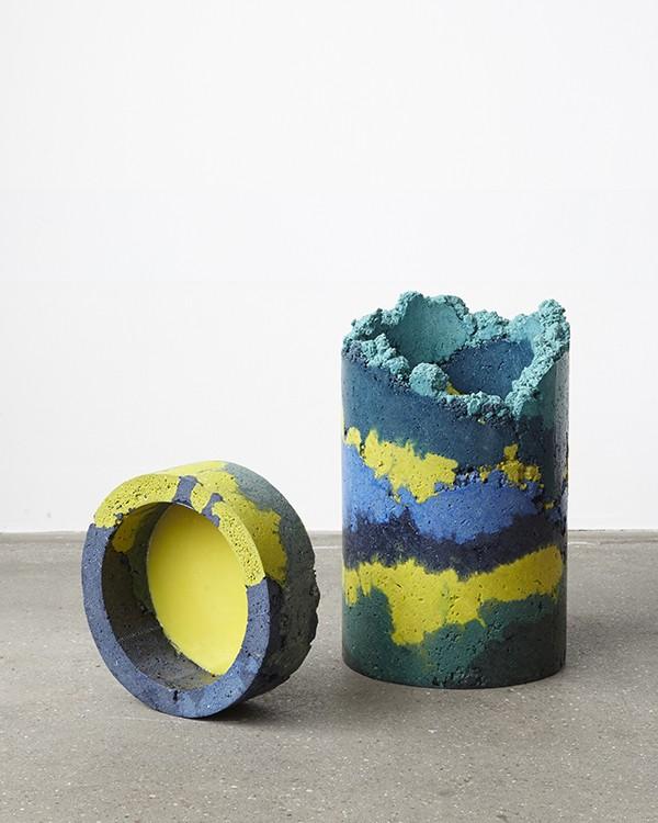 Charlotte Kidger recycled industrial waste furniture