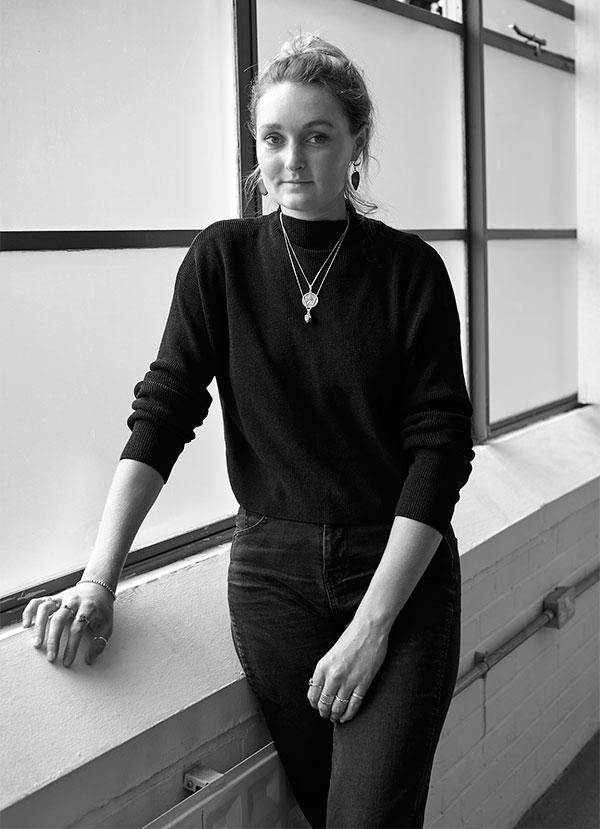 Portrait of Material Designer Charlotte Kidger