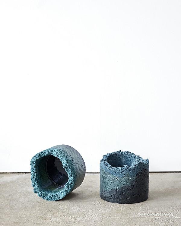 Zero waste industrial craft by Charlotte Kidger