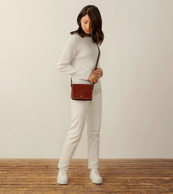 Maxwell Scott The Lucca leather bag
