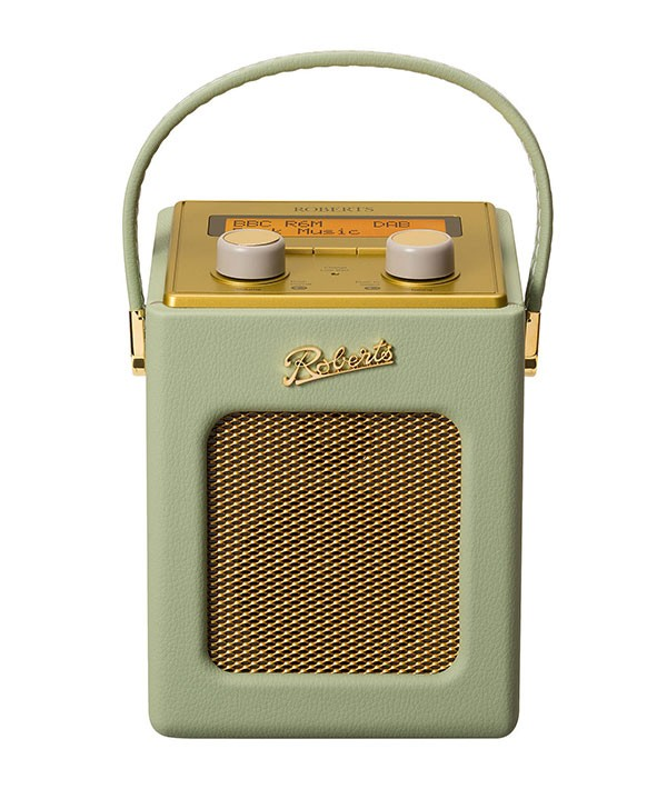 Roberts Revival Mini DAB radio in Leaf