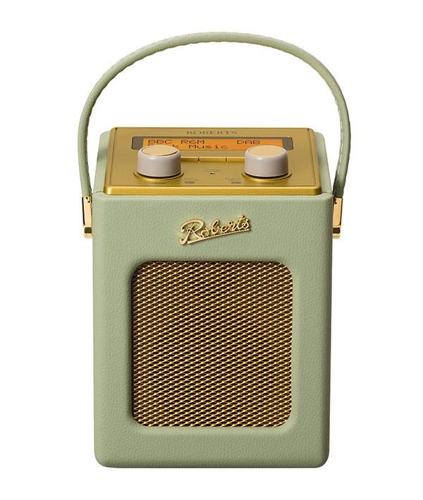 Roberts Revival Mini DAB radio in Leaf