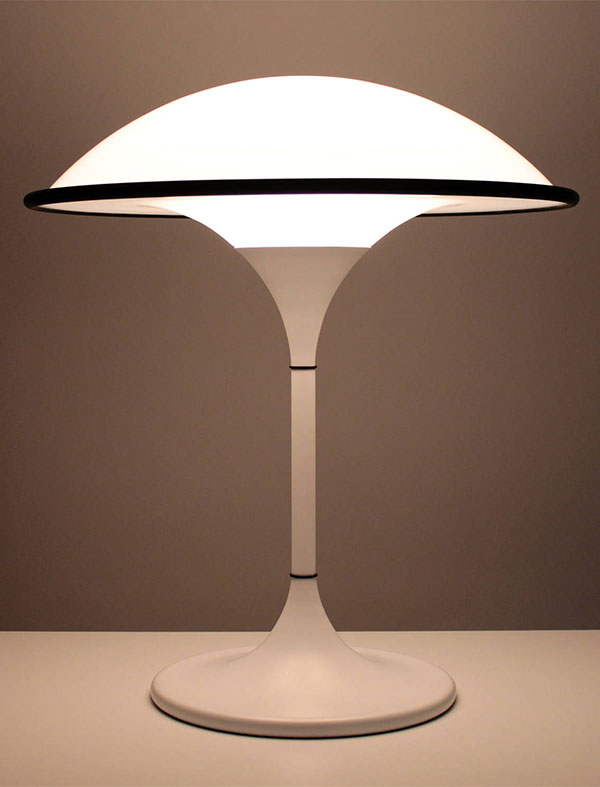 Vintage 1980s COSMOS table lamp by Preben Jacobsen Fog & Morup