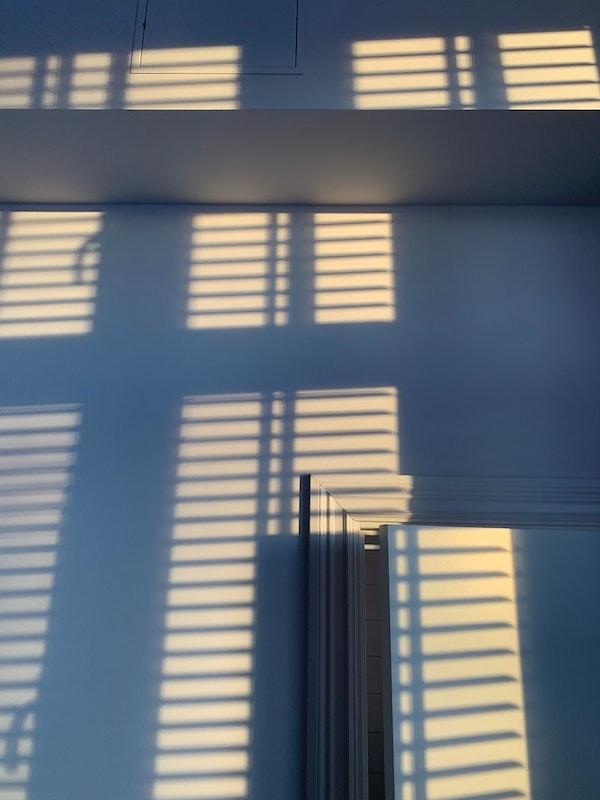 Sunblind shadows