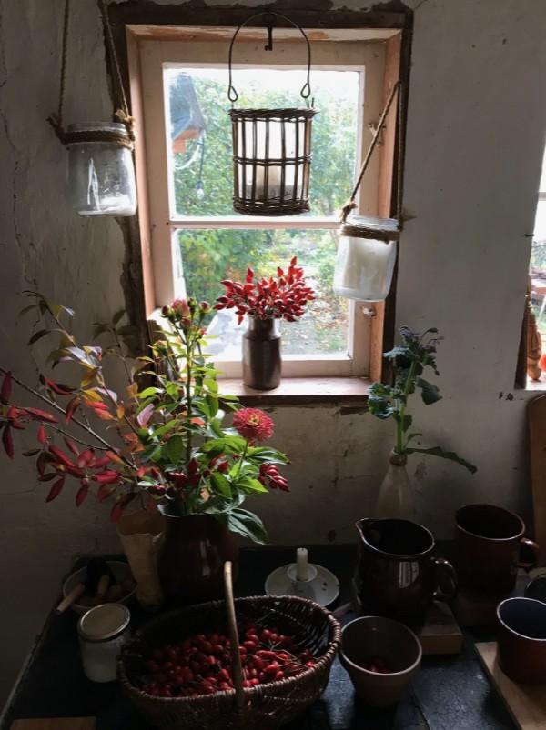 German cottage kitchen interior