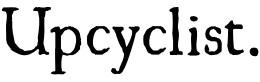 Upcyclist logo