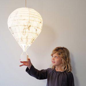 paper hot air balloon lampshade