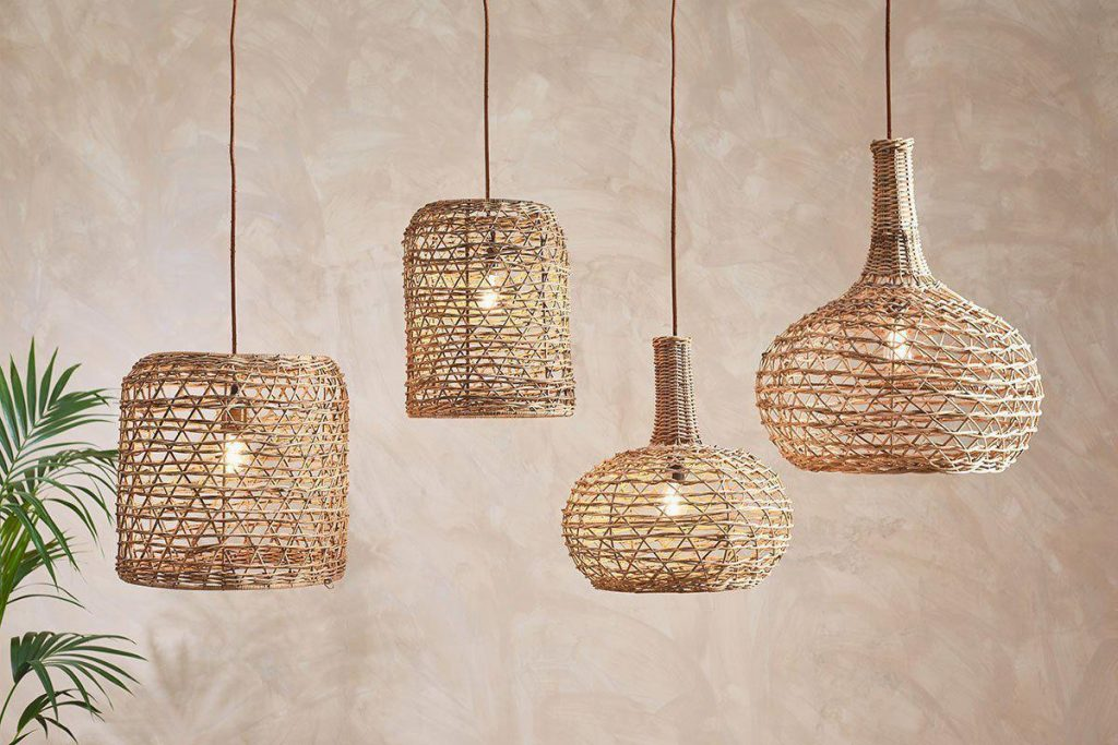 Beru pendant lighting by Nkuku