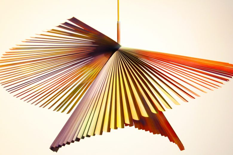 PDP multicolour light by Montreal lighting designer studio bottė