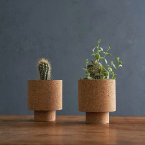 cork planters by mind the cork