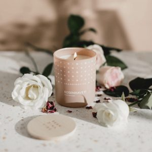 ROSENHAVE Rose Garden Scented Candle by Skandinavisk