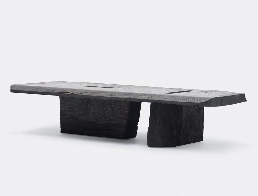 Essential furniture made from salvaged wood by Viewport Studio