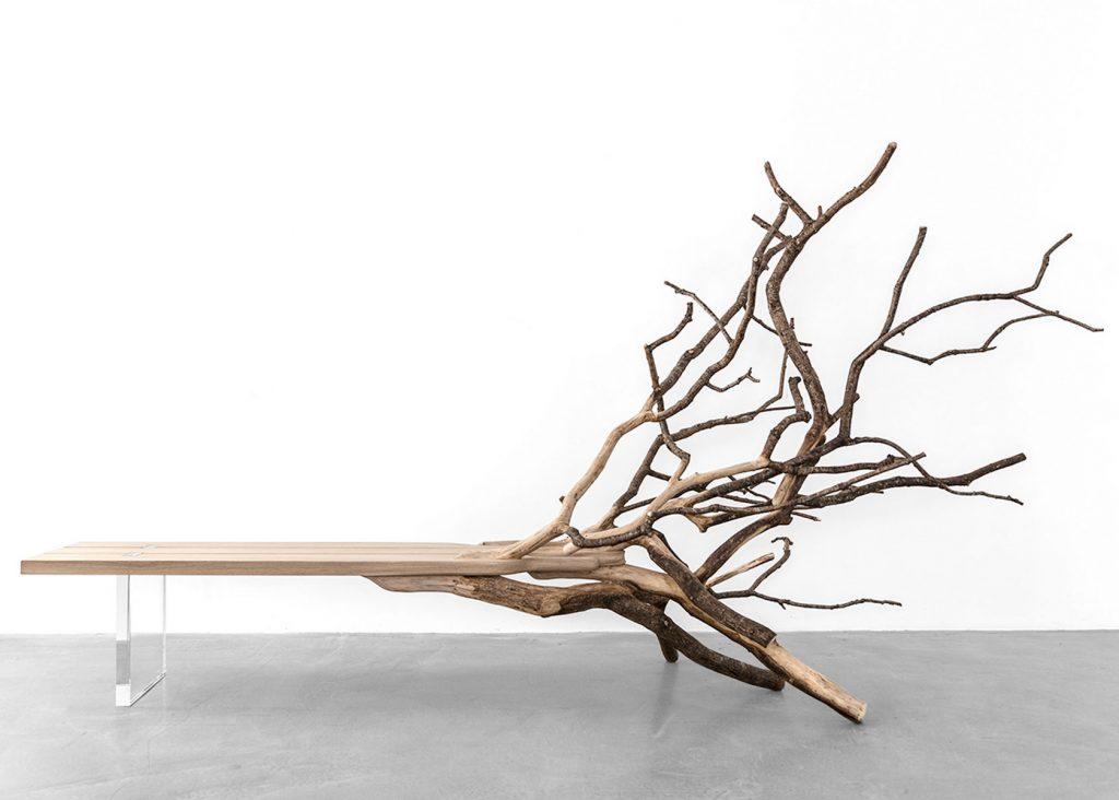 fallenTree bench by Benjamin Graindorge