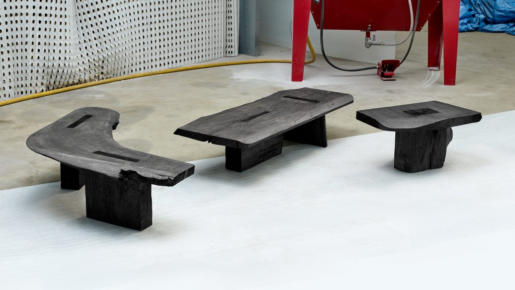 Viewport Studio reclaimed wood furniture collection