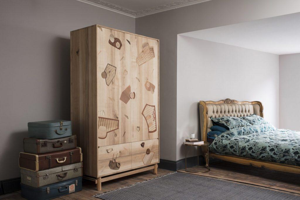Harrington wardrobe by Jan Hendzel Studio