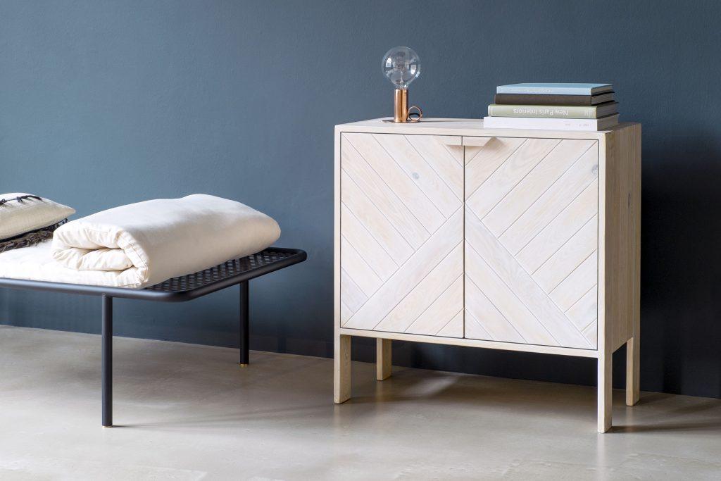 Reclaimed wood furniture by Daniel Becker