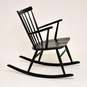 1960s Swedish vintage rocking chair
