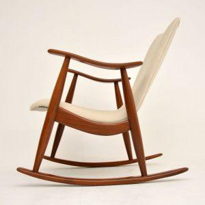 1960s vintage Dutch rocking chair