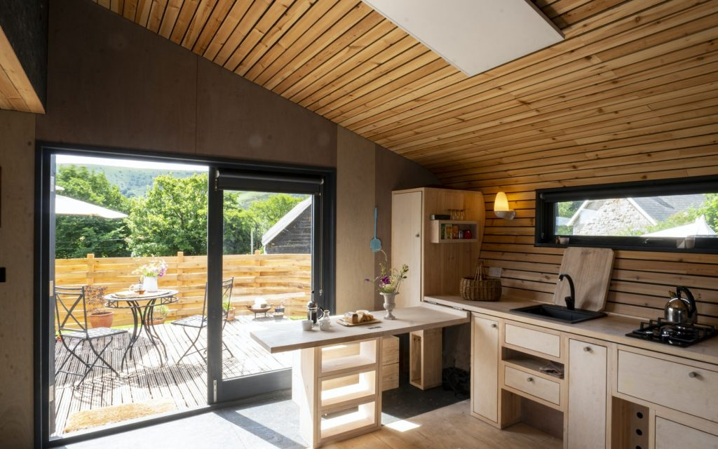 Cabin to rent in Wales