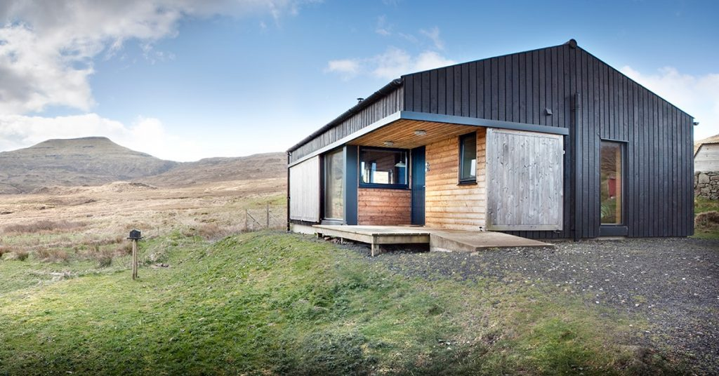 Cabin to rent on the Isle of Skye