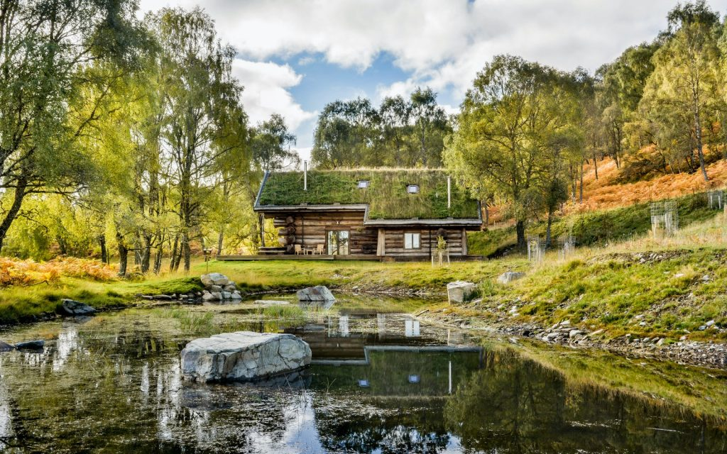 UK cabins to rent with stunning views